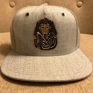 Egyptian Hat designed on a Pit Bull Cap